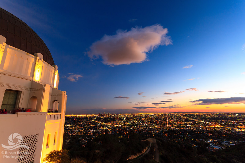 Griffith Observatory and Los Angeles