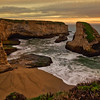 Sunset, Shark Fin Cove