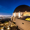 Griffith Observatory Twilight