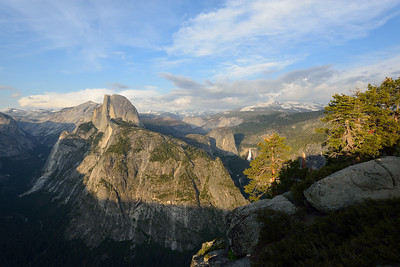 Glacier Point's Last Light