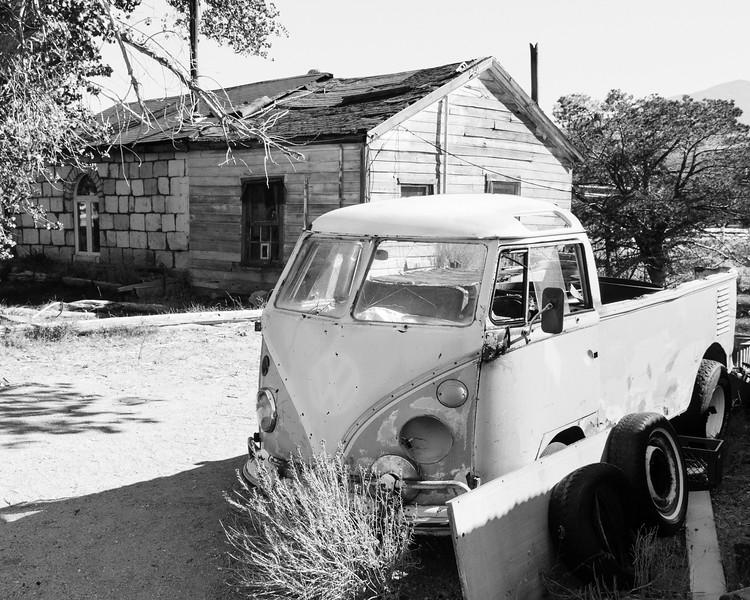Abandoned Volkswagen Van, Benton Hot Springs, CA