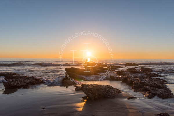 Crystal Cove State Park - Sunset 01