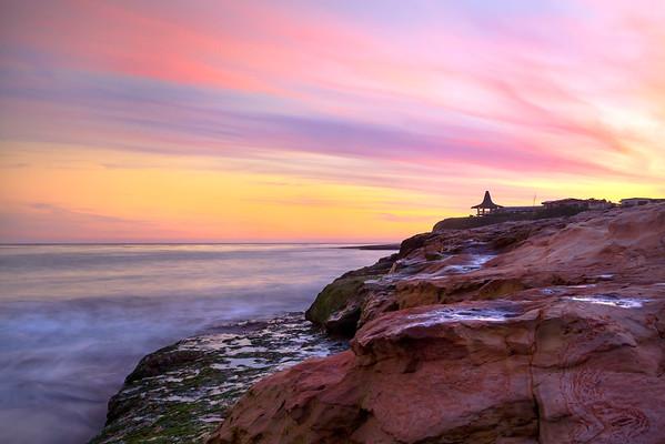 Santa Cruz  Sunset Tides