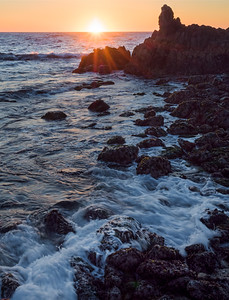Asilomar Sunset, Pacific Grove, CA  (10026)