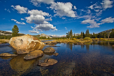 Tuolemne Meadows, Yosemite National Park, California, USA