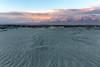Sunrise, Owens Lake and Sierra Nevada Mountains