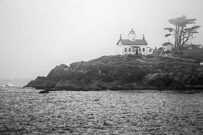Battery Point Lighthouse, Crescent City, California, USA