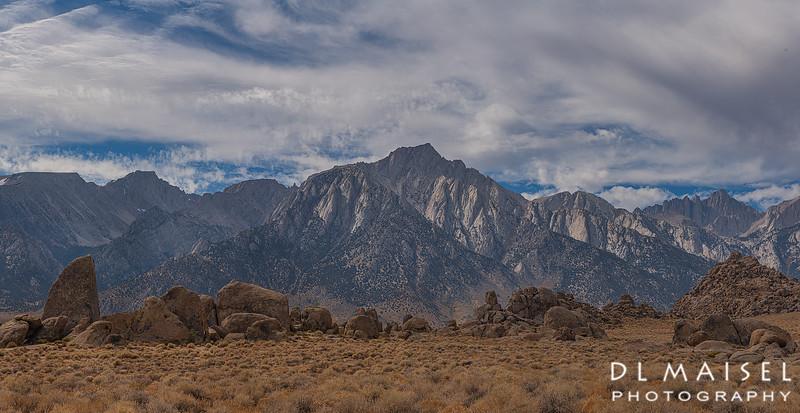 Alabama Hills & Sierra Mountains