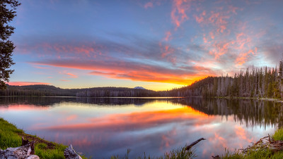 Idyllic Lassen Sunset