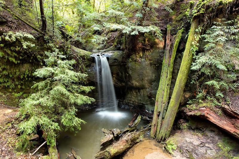 Sempervirens Falls, Santa Cruz County, CA