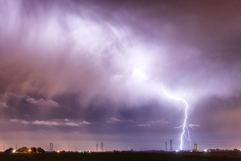 Spring Thunderstorm, San Joaquin County, CA