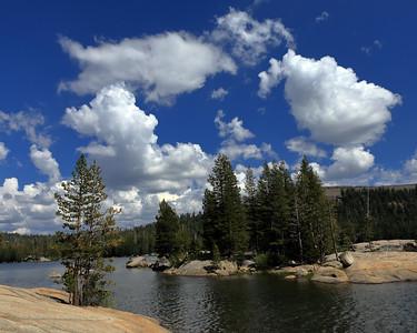 Summer Clouds, Lake Alpine, CA