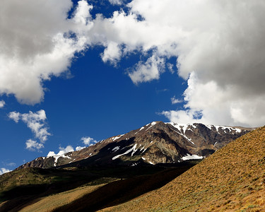 Clouds and Shadows, Mount Wood, Mono County, CA