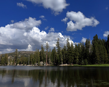 Thunderstorm Reflections, Mosquito Lake, Alpine County, CA