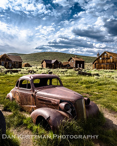 Arrestee Decay, Bodie State Historic Park