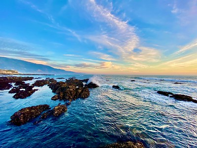 Sunrise Shelter Cove, California