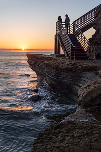 Sunset, San Diego, California (74730-74733)