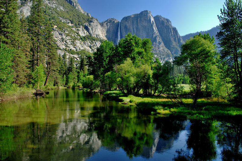 Yosemite Falls, Yosemite National Park,Ca    <br /> Photo # 74