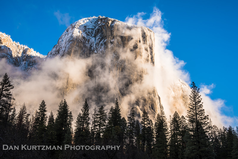 Morning Mist on El Capitan
