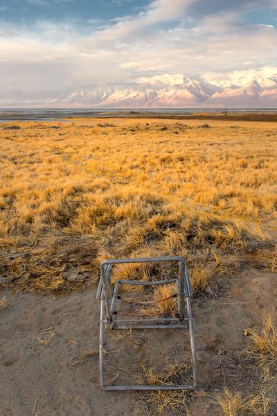 Abandoned Chair, Keeler, CA