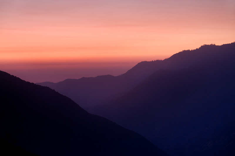 Sunset Along Highway 180