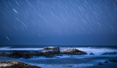 Stars Over Carmel, California