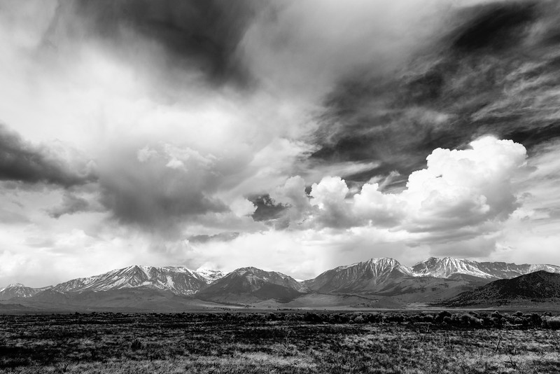 Spring Thunderstorm, Eastern Sierra Nevada Mountains