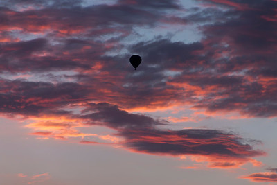 Big Balloon Sunset