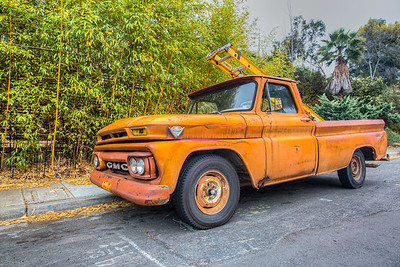 Cool truck in San Diego, California