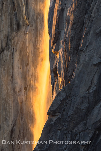 Horsetail Fall Firefall Close Up