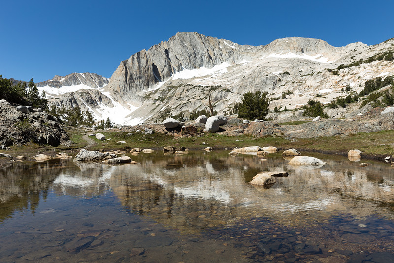 North Peak and Shamrock Lake, CA