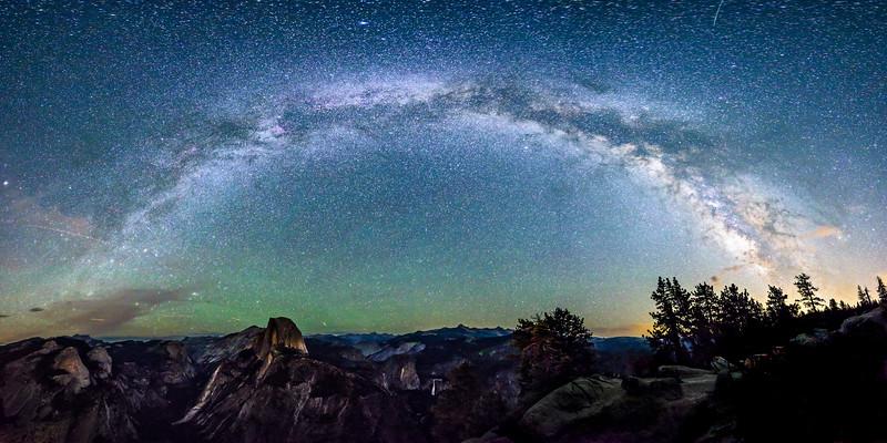 Stars over Yosemite