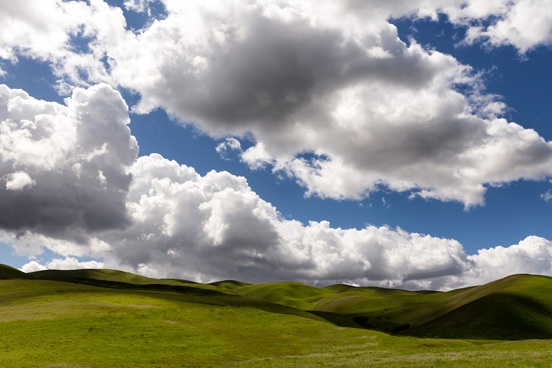 Spring Clouds, Patterson Pass, CA
