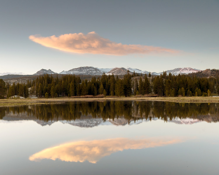 Spring Reflections, Tuolumne Meadows, CA