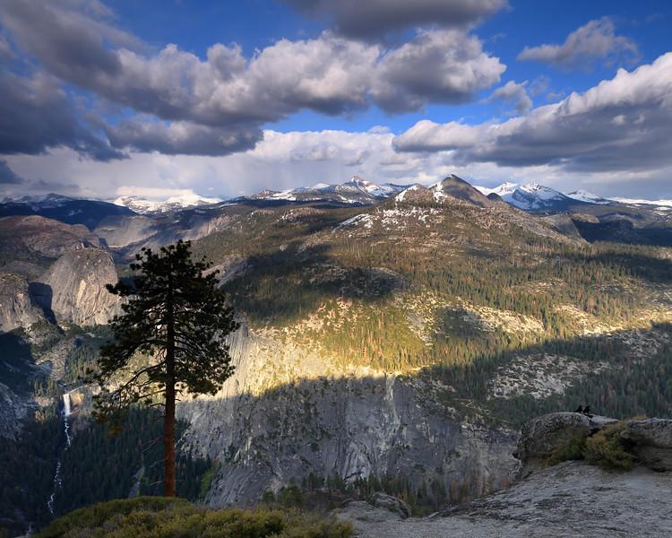 Ravens and Mount Starr King, Yosemite National Park