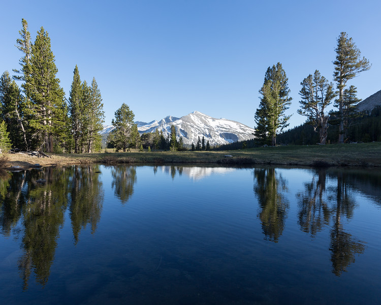 Kuna Crest Reflection, Yosemite National Park
