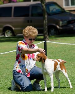 Vicki Rittner with  Shiloh's Razzle N Dazzlin Deja Vu