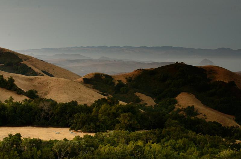 Central Coast hills