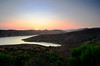 Sunset at Whale Rock Reservoir<br /> Cayucos