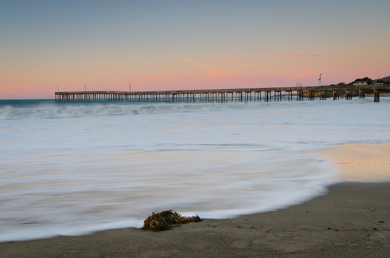 Cayucos Pier Sunrise