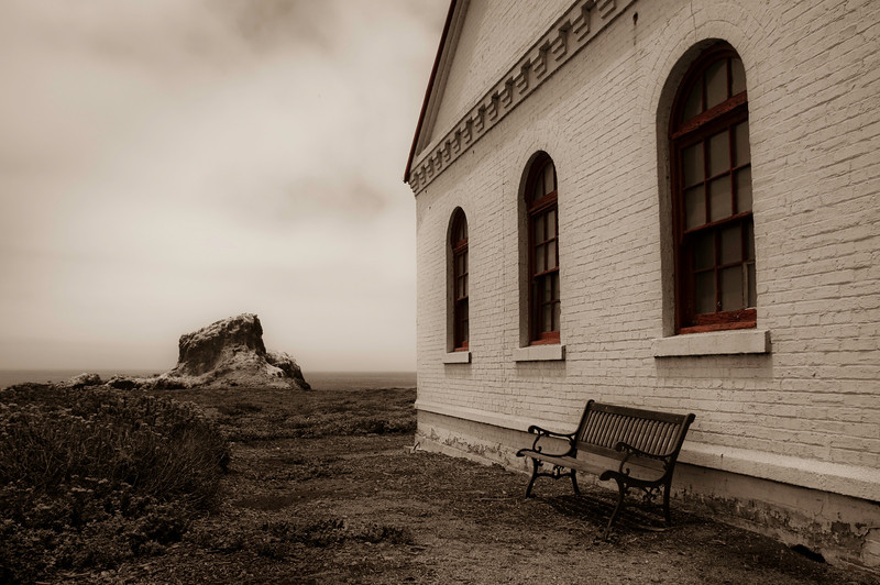 Pump House<br /> Las Piedras Blancas Lighthouse<br /> San Simeon, California