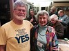 The YES shirt keeps showing up-after the anniversary with Ron Felzer (from John Gallagher).