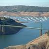 Bidwell Bar Bridge, Lake Oroville, Jan. 2014. Photo courtesy of California Department of Water Resources.