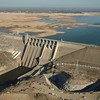 Folsom Dam, Jan. 2014. Photo courtesy of California Department of Water Resources.