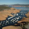 Lake Oroville Jan. 2014. Photo courtesy of California Department of Water Resources.