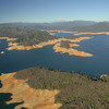 Shasta Reservoir, Jan. 2014. Photo courtesy of California Department of Water Resources.
