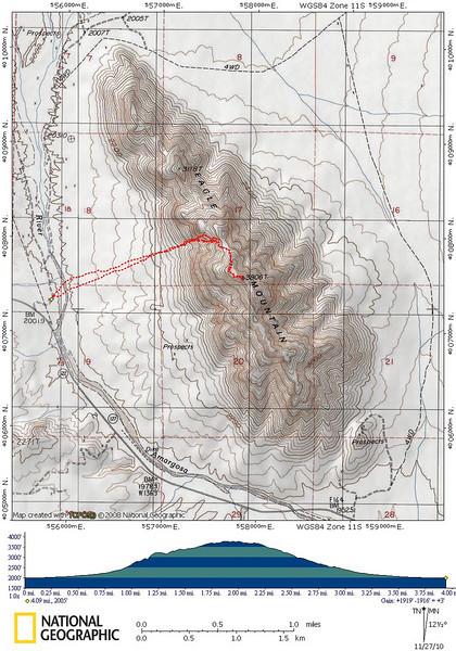 Eagle Mountain Track