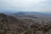 Looking down toward Palen Mountain.