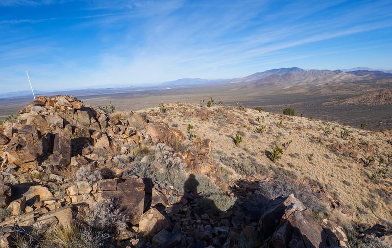 Summit of Kessler Peak