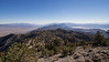 Death Valley on one side and Eureka Valley on the other side.